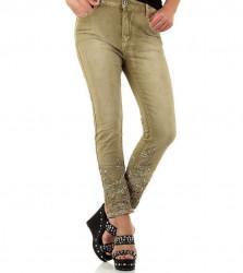 Dámske módne jeansy Mozzaar Q4454