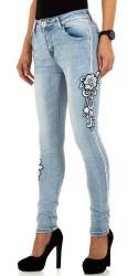 Dámske módne jeansy Mozzaar Q5504