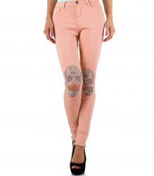 Dámske módne jeansy Naum Jeans Q4136