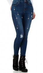 Dámske módne jeansy Naum Q3639