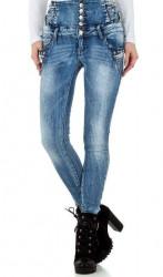 Dámske módne jeansy Original Denim Q3638