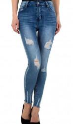 Dámske módne jeansy Q4833