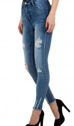 Dámske módne jeansy Q4833 #1