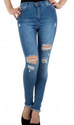 Dámske módne jeansy Q4834