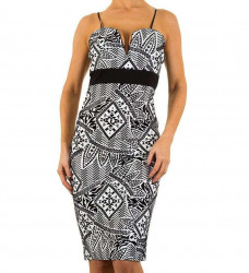 Dámske módne šaty Evita Gold Q4152