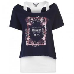 Dámske módne tričko Golddigga J4607