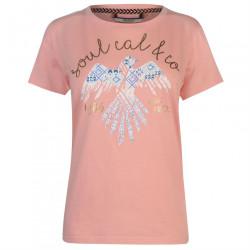 Dámske módne tričko SoulCal H7401
