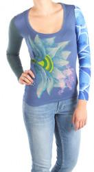 Dámske modré tričko Desigual W0989
