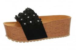 Dámske papuče na platforme Q5656