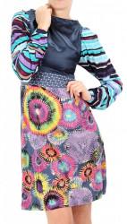 Dámske pestrofarebné šaty Desigual W0953