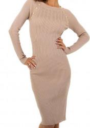 Dámske pletené šaty Q6998