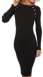 Dámske pletené šaty Q7000