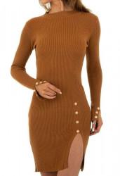 Dámske pletené šaty Q7003