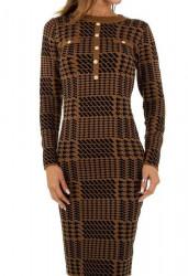 Dámske pletené šaty Q7007