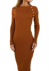 Dámske pletené šaty Q7008