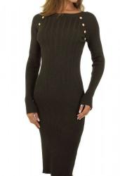 Dámske pletené šaty Q7009