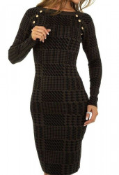 Dámske pletené šaty Q7010