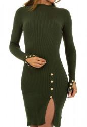 Dámske pletené šaty Q7011