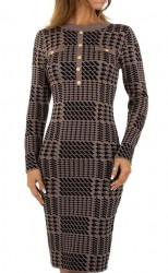 Dámske pletené šaty Q7013