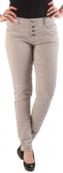 Dámske pohodlné jeansové nohavice W2270