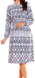 Dámske pohodlné šaty N0861