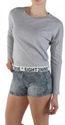Dámske pohodlné tričko Eight2Nine X8567