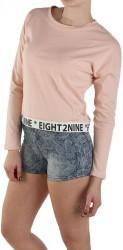 Dámske pohodlné tričko Eight2Nine X8569