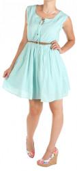 Dámske ružové šaty Fresh Made W0551