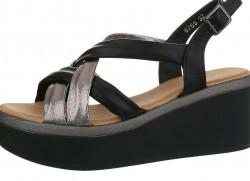 Dámske sandále na kline Q4865