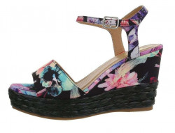 Dámske sandále na kline Q5223
