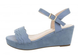 Dámske sandále na podpätku Q5572