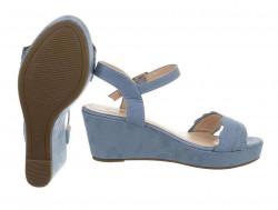 Dámske sandále na podpätku Q5572 #1