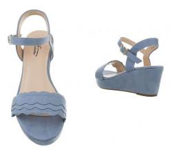 Dámske sandále na podpätku Q5572 #2