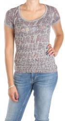 Dámske sivé tričko Desigual W0998