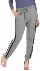 Dámske sivé voĺnočasové nohavice W2491