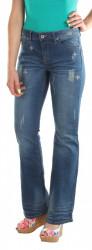 Dámske štýlové jeans nohavice Denim Delight X9120