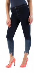 Dámske štýlové jeansové nohavice Laulia Q0828