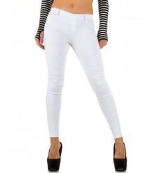 Dámske štýlové jeansové nohavice Laulia Q2022