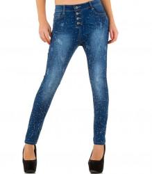 Dámske štýlové jeansy Fashion Denim Q4125