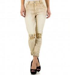 Dámske štýlové jeansy Mozzaar Q2074