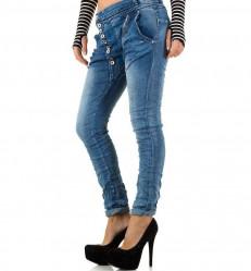Dámske štýlové jeansy Mozzaar Q2091