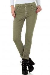 Dámske štýlové jeansy Mozzaar Q3407