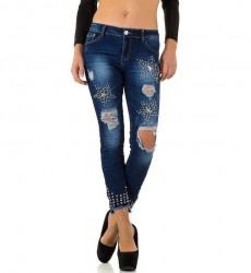 Dámske štýlové jeansy Original Denim Q1876