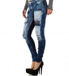 Dámske štýlové jeansy Original Denim Q2168