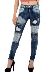 Dámske štýlové jeansy Original Denim Q5778