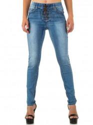 Dámske štýlové jeansy Q2658