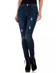 Dámske štýlové jeansy Q3154