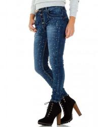 Dámske štýlové jeansy Q3170