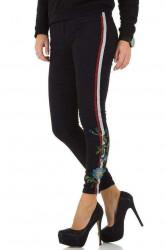 Dámske štýlové jeansy Q3395