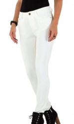 Dámske štýlové jeansy Q4856